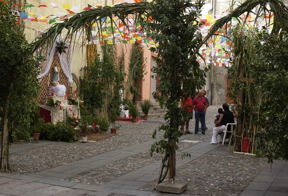 Festa di Nostra Signora di Regnos Altos a seconda domenica di settembre Bosa