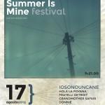 SUMMER IS MINE  17 agosto 2013 Carbonia, Parco di Villa Sulcis