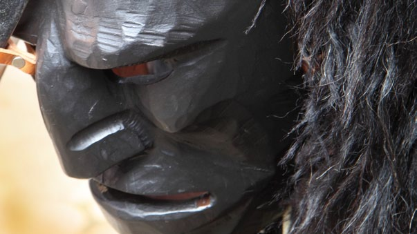 Maschera Mamuthones Cortes Apertas a Mamoiada 2013, Autunno in Barbagia a Mamoiada 1 2 3 Novembre 2013 Sas tappas in Mamujada
