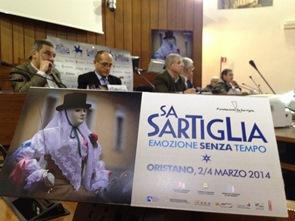 Oristano conferenza stampa presentazione sartiglia 2014