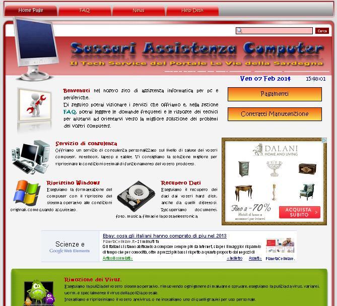 Nasce Sassari Assistenza Computer il Tech Service del Portale Le Vie della Sardegna