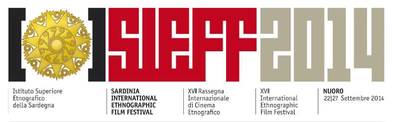 SARDINIA INTERNATIONAL ETHNOGRAPHIC FILM FESTIVAL (SIEFF 2014) Regolamento