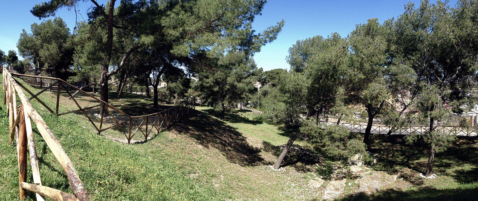 Parco città di Cagliari aprile 2014 panoramica