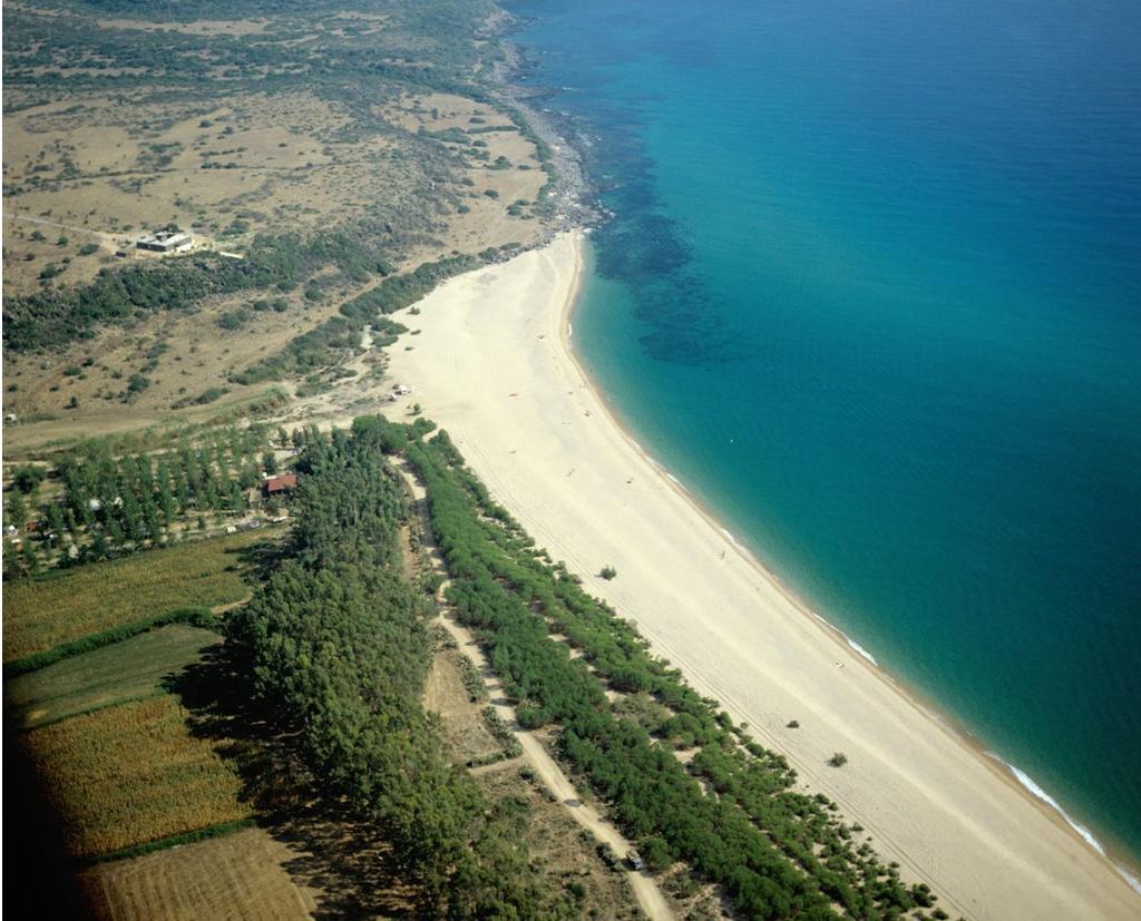 Posada veduta aerea Spiaggia