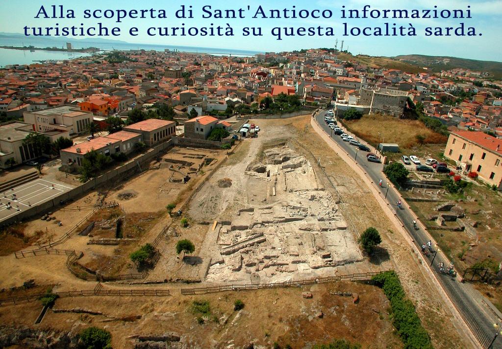 Informazioni turistiche Sant'Antioco città fenicio punica di Sulky