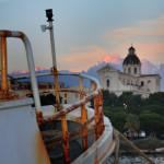 """Inaugurazione mostra Pesca e pescherecci a Cagliari """"Viaggio nelle marinerie di un antico porto"""" – Centro Comunale d'Arte e Cultura Exmà dal 9 aprile all'11 maggio 2014."""