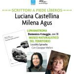 """Milena Agus e Luciana Castellina presentano """"Guardati dalla mia fame"""" – Domenica 4 maggio 2014 alle ore 18 presso il Museo del territorio """"G. Pusceddu""""."""