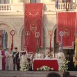 Sassari 22 Giugno 2014. Celebrazione del Corpus Domini in Piazza Italia.