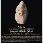 """Museo naturalistico del territorio """"G. Pusceddu"""" Personale di Efisio Cadoni dal 20 giugno al 21 luglio 2014"""