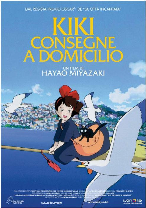 Kiki consegne a domicilio dal regista di La citta incantata regista premio oscar Hayao Miyazaki