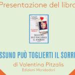 Presentazione del libro Nessuno può toglierti il sorriso di Valentina Pitzalis Arena Mirastelle Carbonia ore 21.00 15 luglio 2014