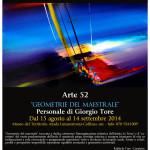 Mostra pittorica dell'artista Giorgio Tore Museo Sa Corona Arrubia dal 15 agosto al 14 settembre 2014.