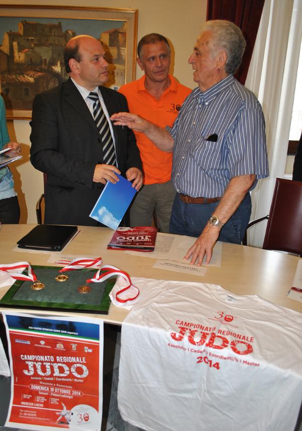 Conferenza stampa al comune di Sassari col sindaco Nicola Sanna 13 ottobre 2014