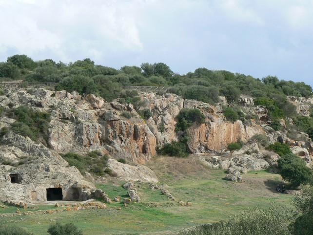 necropoli - domus de janas di Montessu – Villaperuccio