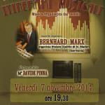 Musica Organista dal Mondo. Il 7 Novembre 2014 presso la Parrocchia di Mater Ecclesiae a Sassari il Maestro Davide Pinna dirigerà Bernhard Marx, Maestro Organista titolare al Duomo di St. Blasien in Germania.