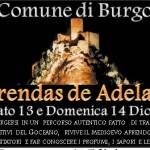 Prendas de Adelasia a Burgos Sabato 13 e Domenica 14 Dicembre 2014.