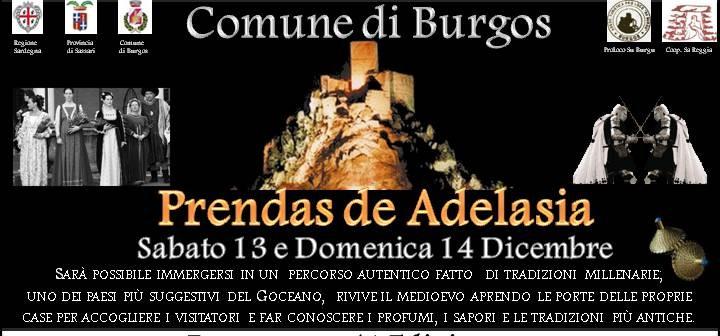 Prendas de Adelasia Comune di Burgos sabato 13 e domenica 14 dicembre 2014
