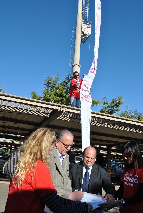 La solidarietà del sindaco Nicola Sanna ai lavoratori Meridiana.