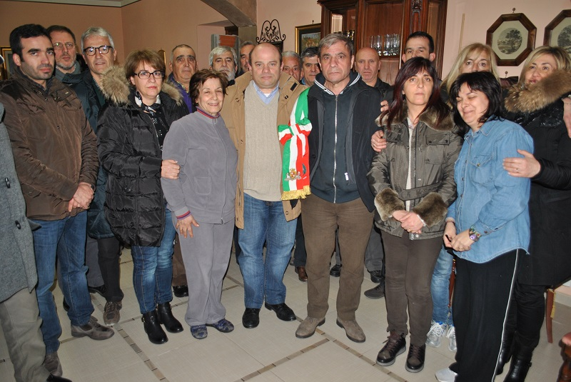 La solidarietà del sindaco di Sassari al collega di Bultei, ieri sera Nicola Sanna ha fatto visita a Francesco Fois.