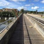Comune di Alghero lavori straordinari per la messa in sicurezza delle  passerelle sul ponte di Fertilia.