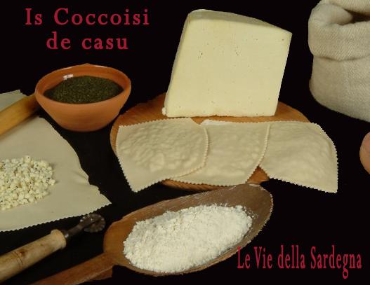 Is Coccoisi de casu fa parte delle paste fresche e prodotti della panetteria Tradizionale della Sardegna e in particolare questo è un piatto tipico tradizionale di Tonara (NU).