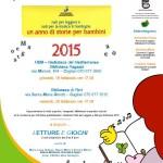 """Doppio appuntamento con il Calendario """"Nati per Leggere e Nati per la Musica 2015"""" presso la Biblioteca Ragazzi della MEM e nella Biblioteca di Pirri."""