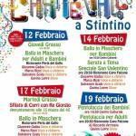 Maschere e carri allegorici per il Carnevale Stintinese targato 2015.