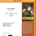 Venerdì 20 febbraio 2015 Centro Servizi Culturali UNLA – Oristano  presentazione del libro Come ombre dal fiume (EDES) di Gino Camboni.