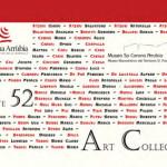 """Mostra collettiva """"Arte52 – Art Collection"""" dal 15 marzo 2015 al 19 aprile 2015 al Museo Naturalistico del Territorio """"G. Pusceddu""""."""