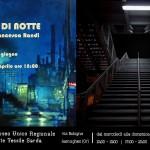 La Rassegna Face Off prosegue con la doppia mostra Bersaglio di Notte, 2 artisti rappresentanti del Mondo dell'Arte Contemporaneo al MURATS dal 17 aprile al 17 giugno 2015 potrete così vedere la Pittura di Max Mazzoli e le Fotografie di Francesca Randi.