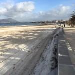Alghero si prepara alla stagione turistica 2015 e la città si presenta ai turisti con le spiagge pulite.