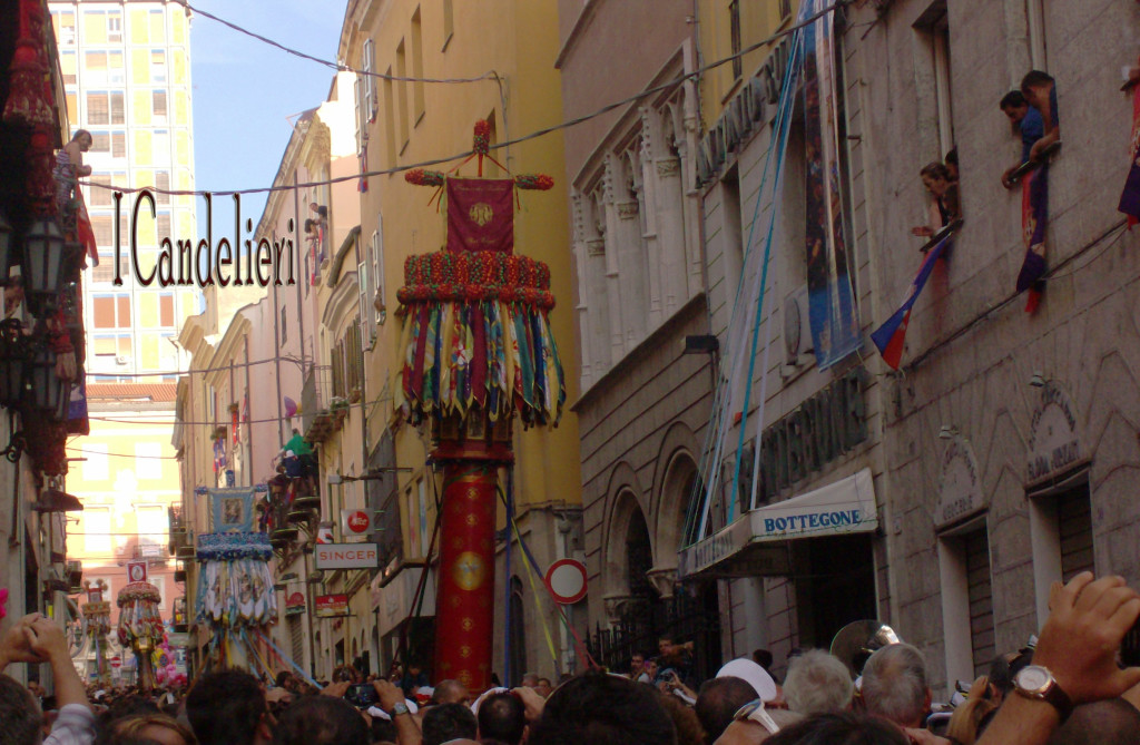 I Candelieri foto originale del Portale Le Vie della Sardegna
