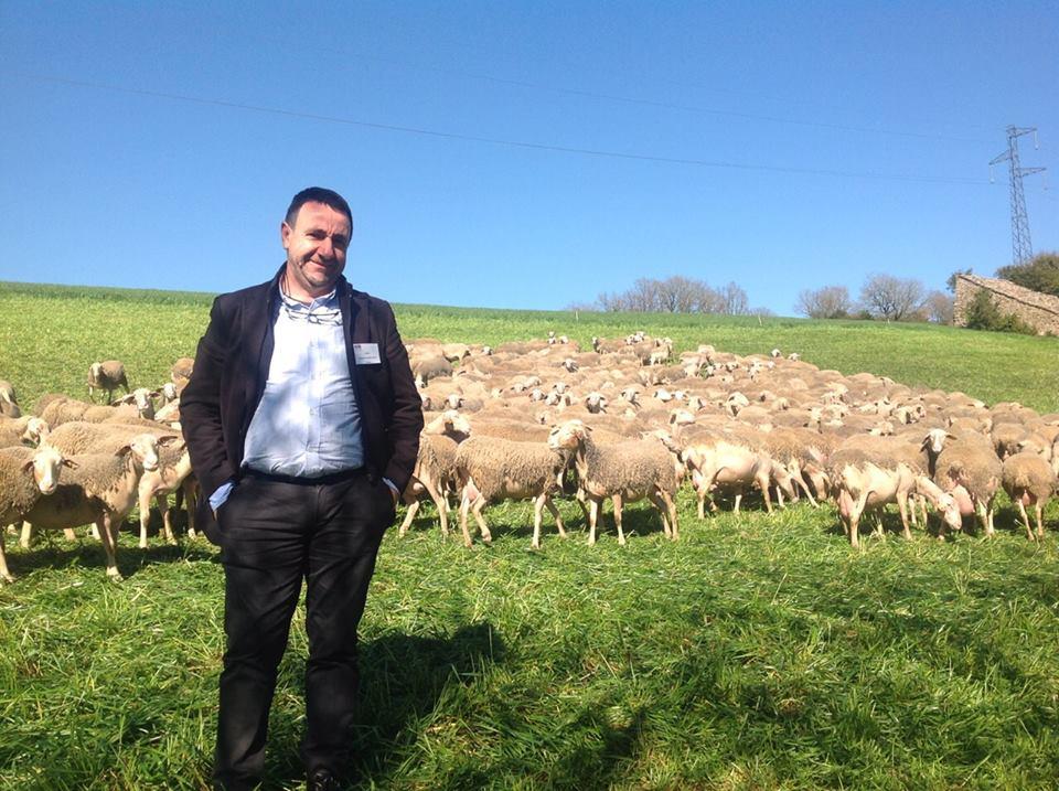 Il presidente del Consorzio della tutela dell'Igp agnello di Sardegna Battista Cualbu
