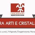 """Guspini domenica 6 e martedì 8 dicembre 2015 Miniera di Montevecchio l'evento """"Tra Arti e Cristalli""""."""
