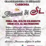 """Fiera """"Dimmi di Sì …"""" appuntamento dedicato al romantico mondo delle Nozze Carbonia 26-27-28 febbraio 2016."""