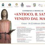 """Una mostra dedicata ad """"Antioco, il Santo venuto dal mare"""" Ozieri Museo Diocesano dal 20 febbraio al 3 aprile 2016."""