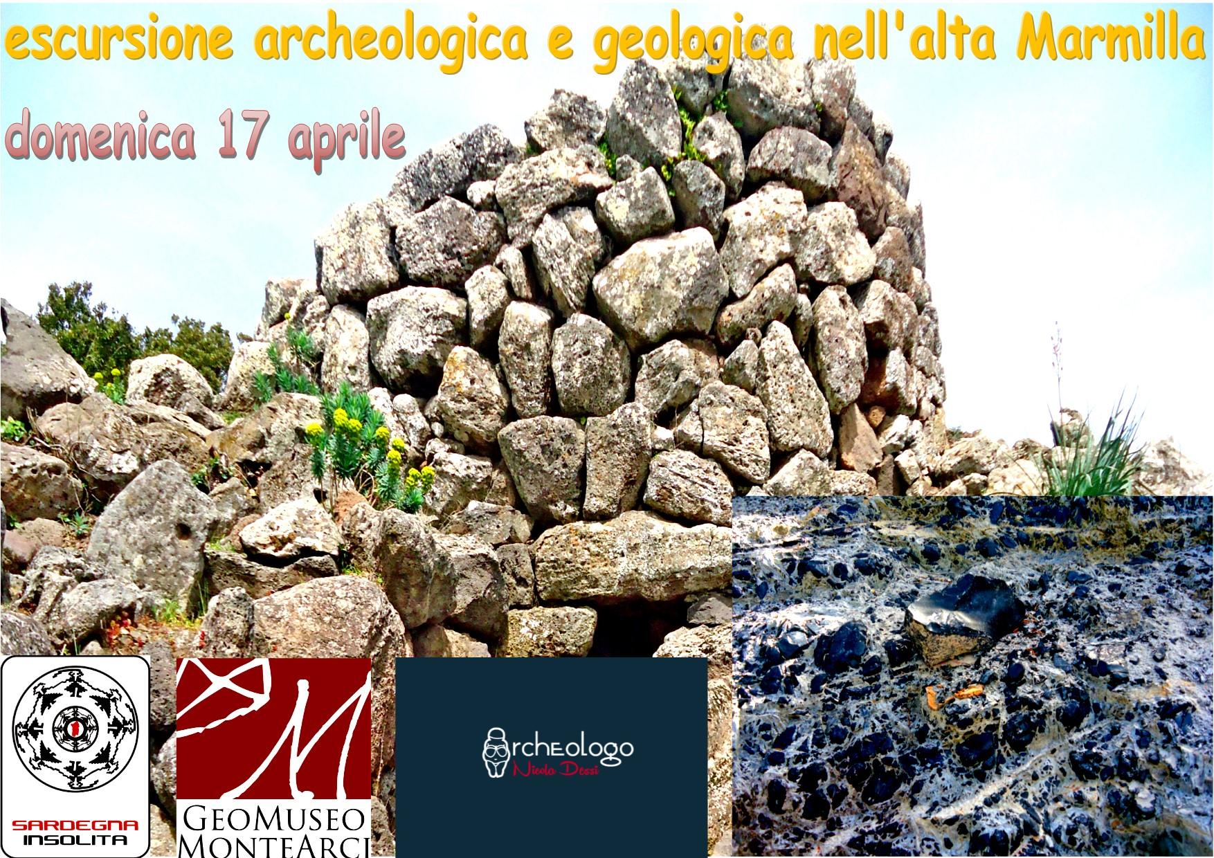 Escursione archeologica e geologica in alta Marmilla partecipa anche tu Domenica 17 aprile 2016.