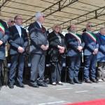 Il sindaco Nicola Sanna ha portato i saluti della città di Sassari agli uomini della Brigata Sassari in partenza per il Libano.