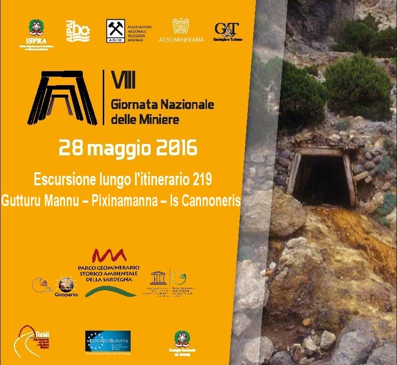 Escursione Gratuita Comune di Pula per la Giornata Nazionale delle Miniere 28 maggio 2016 Programma completo e informazioni di contatto.