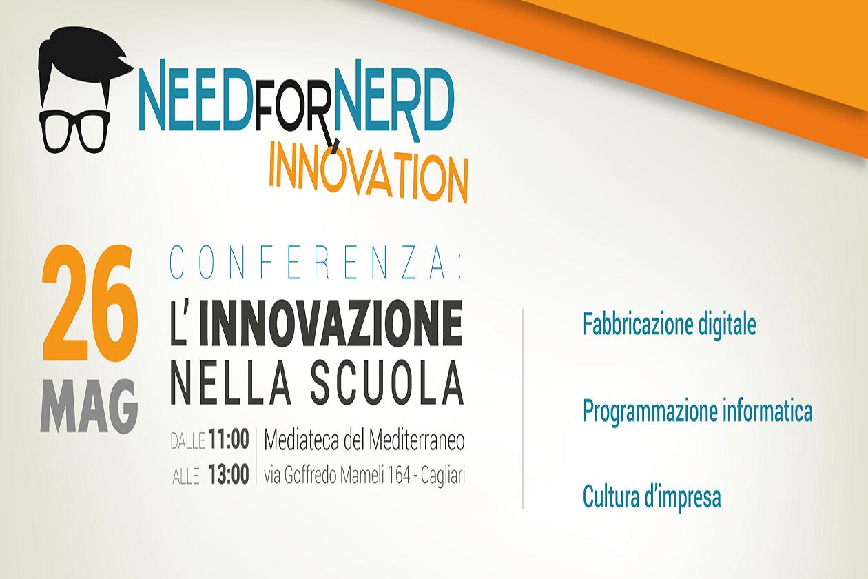 Innovazione nella scuola se ne parla giovedì 26 maggio 2016 alla MEM di Cagliari a partire dalle ore 11.