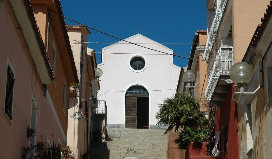 Arzachena chiesa di Santa Lucia.