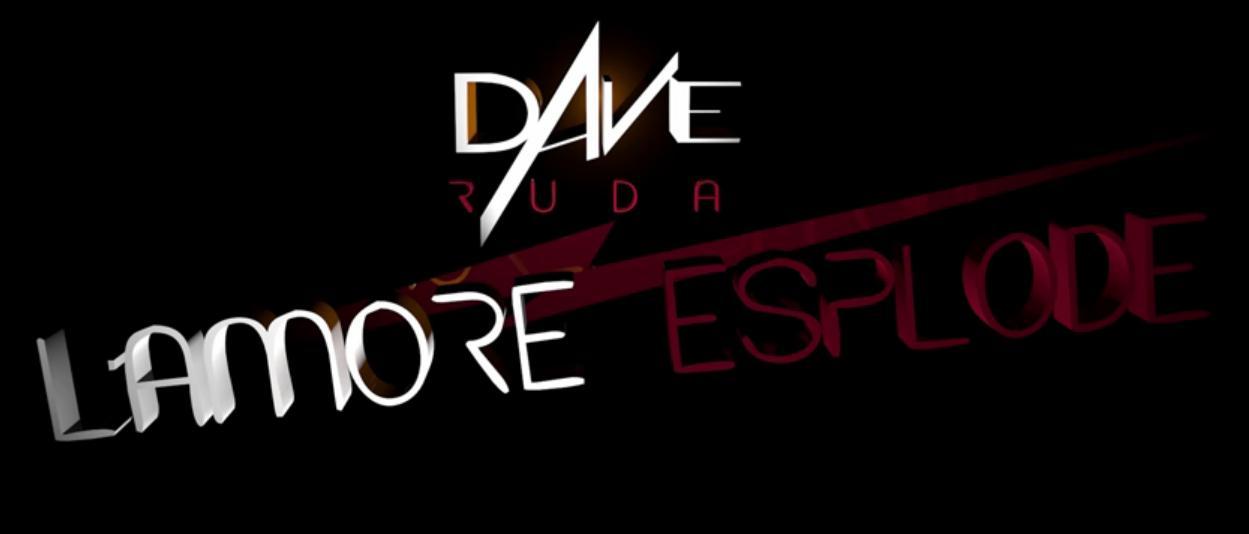 L'amore esplode il video clip del singolo del cantante algherese che ha partecipato a The Voice 2016 Dave Ruda