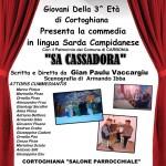 """A Carbonia sabato 11 e domenica 12 giugno 2016 si terrà la Commedia """"Sa Cassadora"""" scritta e diretta da Gian Paolo Vaccargiu."""