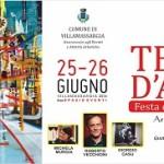 Tempi D'Arte Festa della comunità 2016 a Villamassargia  dal 25 al 26 giugno ospiti dell'Evento: Roberto Vecchioni, Michela Murgia e Giorgio Casu.