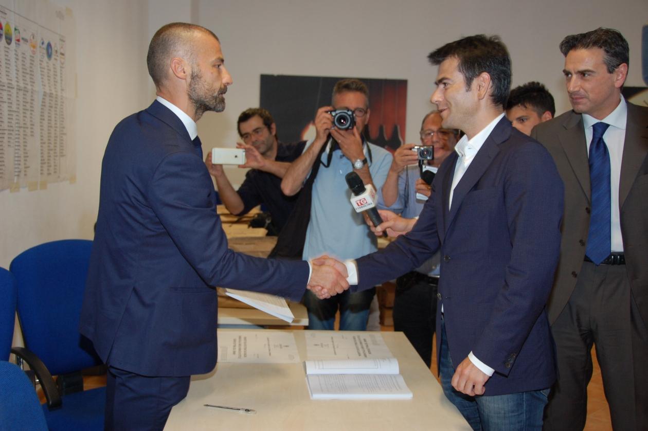Massimo Zedda proclamato Sindaco di Cagliari inizia il suo secondo mandato.