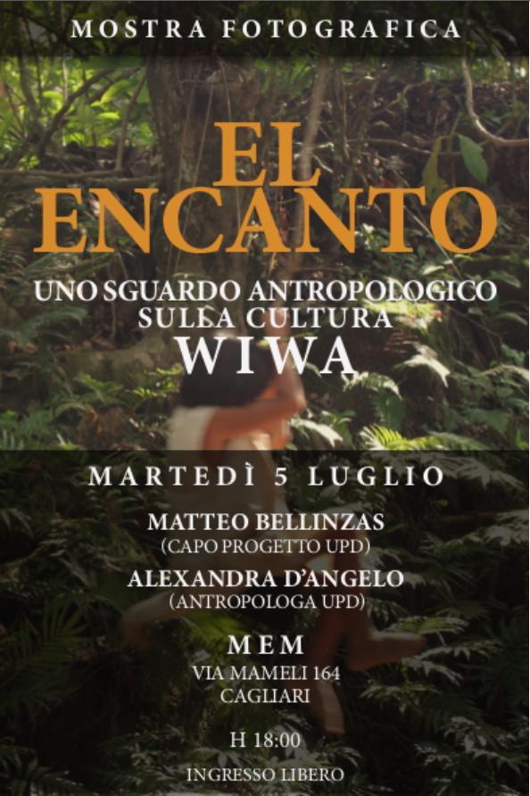 Mostra Fotografica El Encanto MEM  di Cagliari via Mameli 164 ore 18 ingresso libero 5 luglio 2016.  Inaugura il 5 luglio 2016 alla MEM di Cagliari la mostra fotografica El encanto.