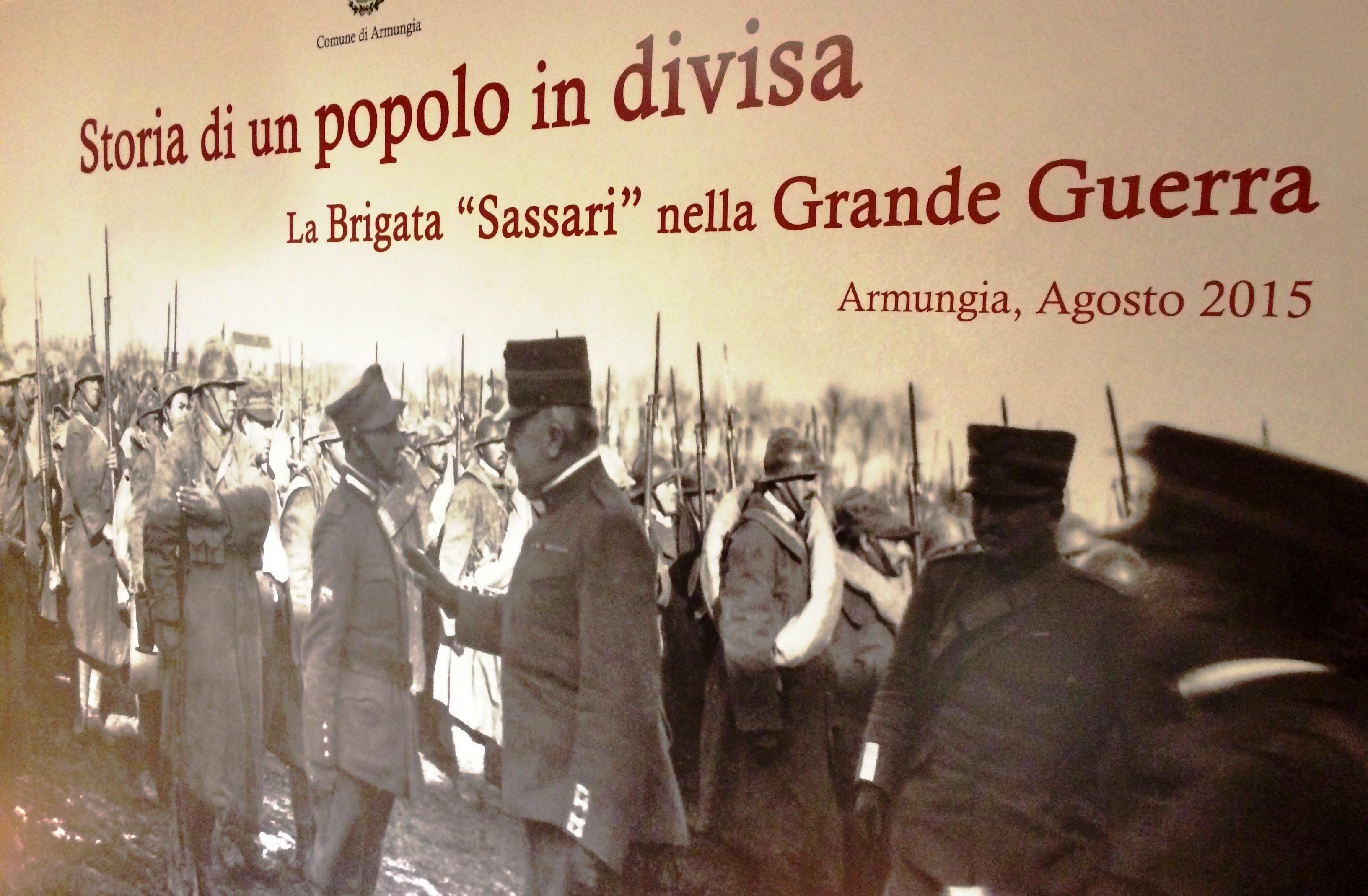 """La mostra """"Storia di un popolo in divisa: La Brigata Sassari nella Grande Guerra"""" al Museo Lussu di Armungia è stata prorogata fino al 31 Agosto 2016."""