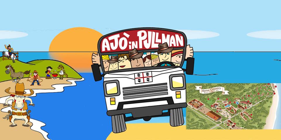 """Ajò in pullman & Horse Country Resort ... alla scoperta della """"far west"""" coast tra relax e avventura."""
