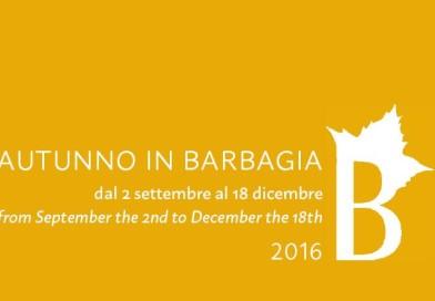 Dal 2 settembre riparte Autunno in Barbagia che ci accompagnerà fino al 18 dicembre 2016.