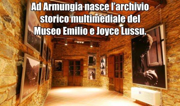 Museo Emilio Lussu e Joyce Lussu Comune di Armungia. REstate ad Armungia (S'Istadi Armungesa 2016) - Eventi al Museo Lussu.